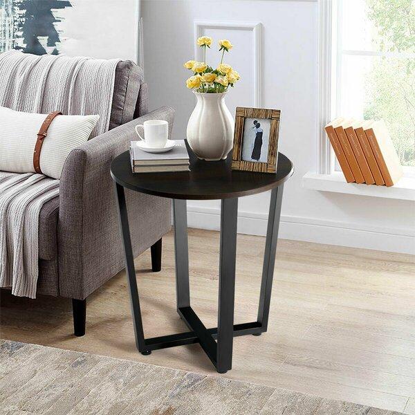 Collinston Cross Legs End Table By Ebern Designs