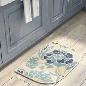 Thorson Power Flower Printed Slice Kitchen Mat
