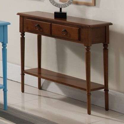 Coastal Notions Console Table by Leick Furniture
