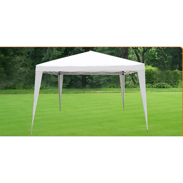 Wedding Party 10 Ft. W x 8.5 Ft. D Steel Pop-Up Canopy by Strong Camel