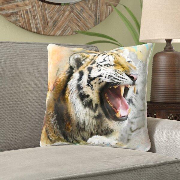 Ekaterina Tiger Throw Pillow
