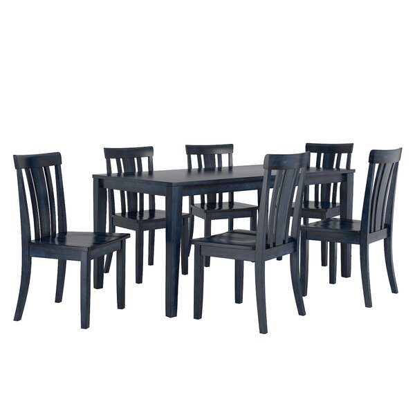 Alverson 7 Piece Dining Set by August Grove August Grove