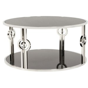 chantrell stainless steel coffee table