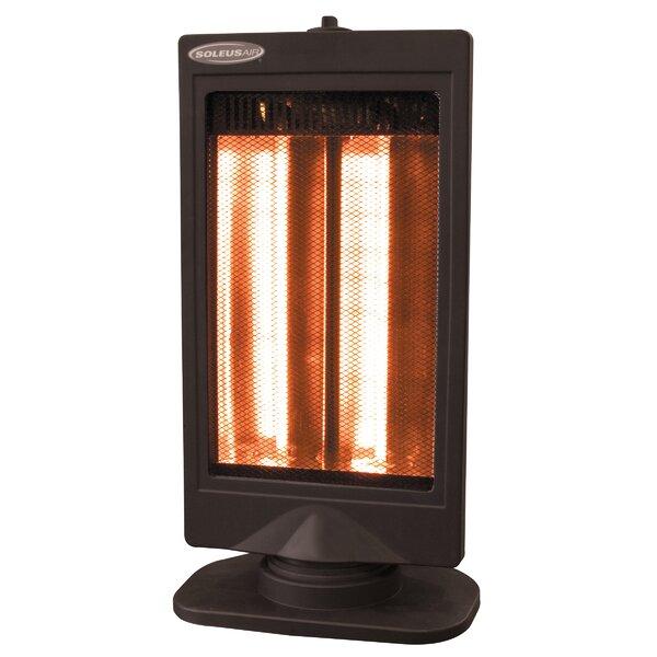 800 Watt Portable Electric Radiant Panel Heater by Soleus Air
