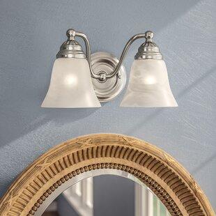 Best Omaha 2-Light Vanity Light ByAndover Mills