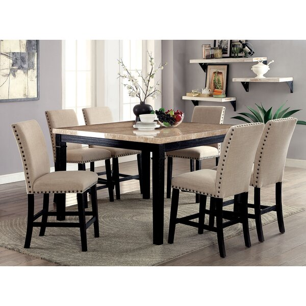 Quill Counter Height Dining Table by Alcott Hill