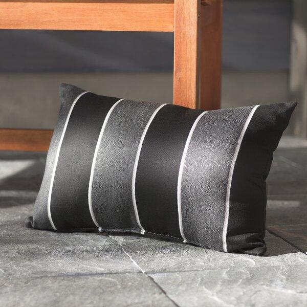 Hinkel Indoor/Outdoor Sunbrella Lumbar Pillow (Set of 2) by Brayden Studio