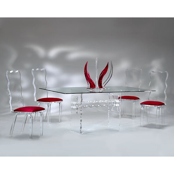 Crystal 5 Piece Dining Set by Muniz
