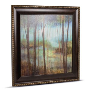 'Soft Forest II' Framed Painting Print by Crystal Art Gallery