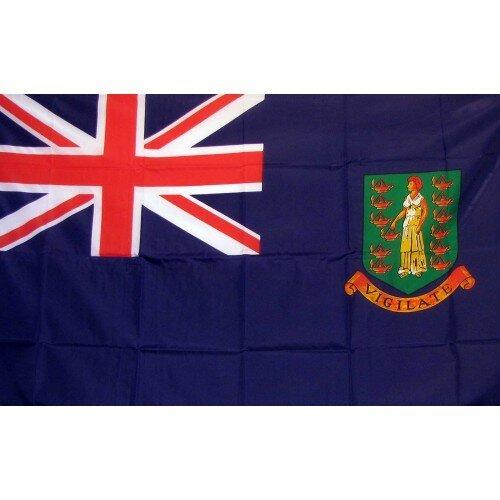 British Virgin Islands Traditional Flag by NeoPlex