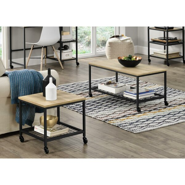 Read Reviews Justis 2 Piece Coffee Table Set by Williston Forge