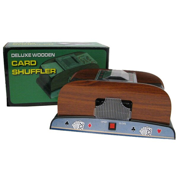 1-2 Deck Deluxe Card Shuffler by Trademark Global