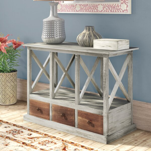 Gillis Console Table by Bungalow Rose Bungalow Rose