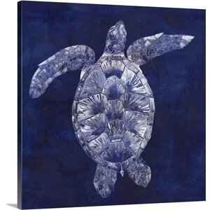 Sea Turtle Shadow II by Grace Popp Graphic Art on Canvas by Great Big Canvas