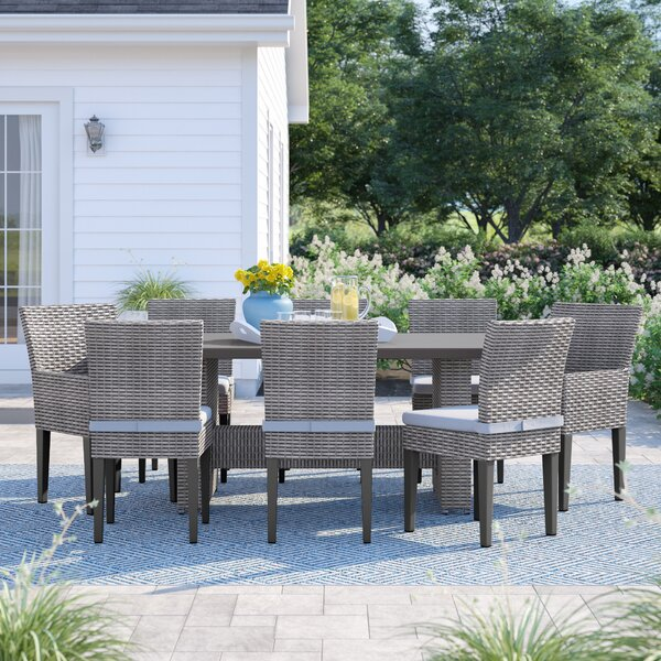 Kenwick 9 Piece Dining Set by Sol 72 Outdoor
