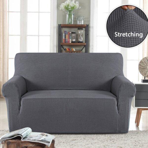 Stretch Box Cushion Loveseat by Symple Stuff