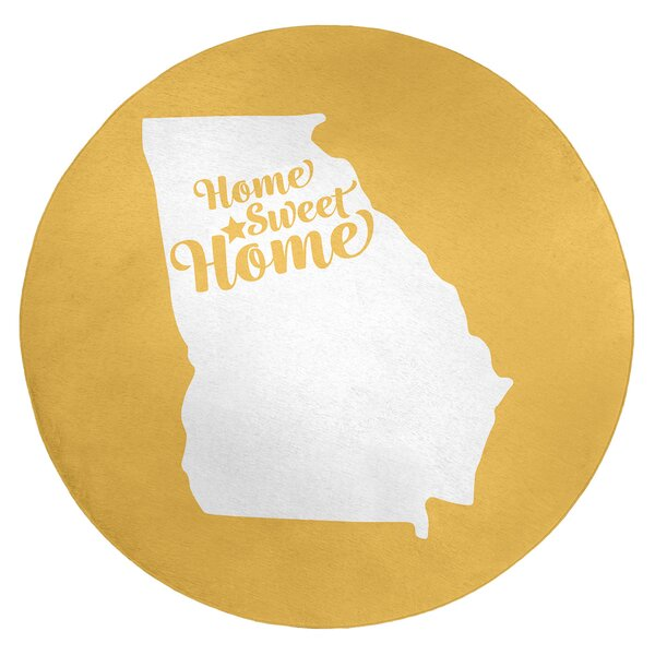 Home Sweet Atlanta Poly Chenille Rug