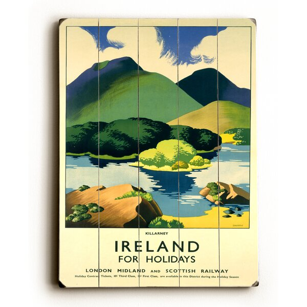 Ireland for Holidays Killarney Vintage Advertisement by Charlton Home