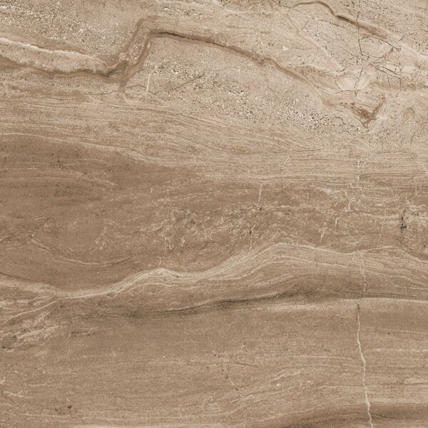 Amalfi 16 x 16 Ceramic Field Tile in Noce Domenico by Interceramic