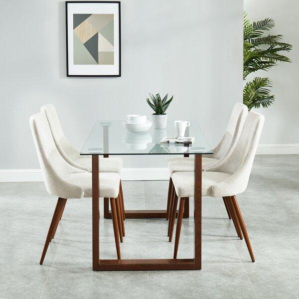 Aldina Contemporary 5 Piece Dining Set by Langley Street Langley Street™