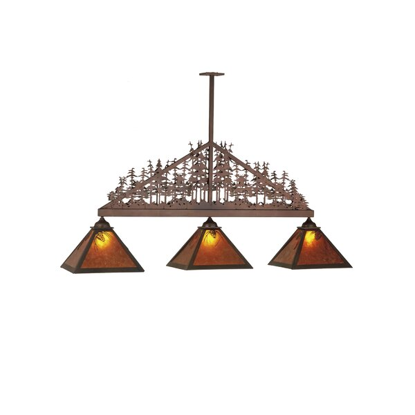 Wyncote 3-Light Kitchen Island Pendant by Loon Peak