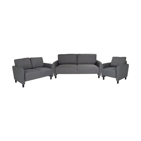 Prunella 3 Piece Living Room Set by Latitude Run