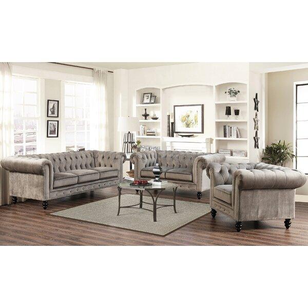 Brooklyn 3 Piece Living Room Set by Mistana