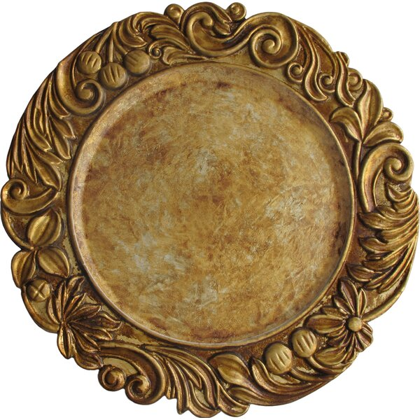 Cantera 14 Melamine Charger Plate by Astoria Grand