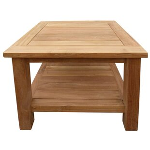 Read Reviews Cortright Teak Side Table ByHighland Dunes