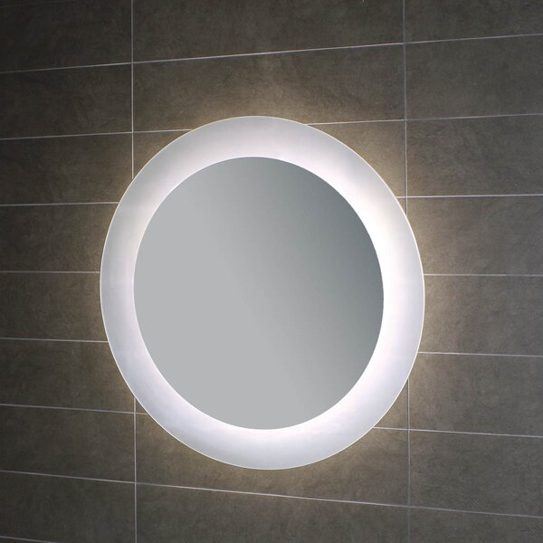 Geometrie Lighted LED Wall Mirror by WS Bath Collections