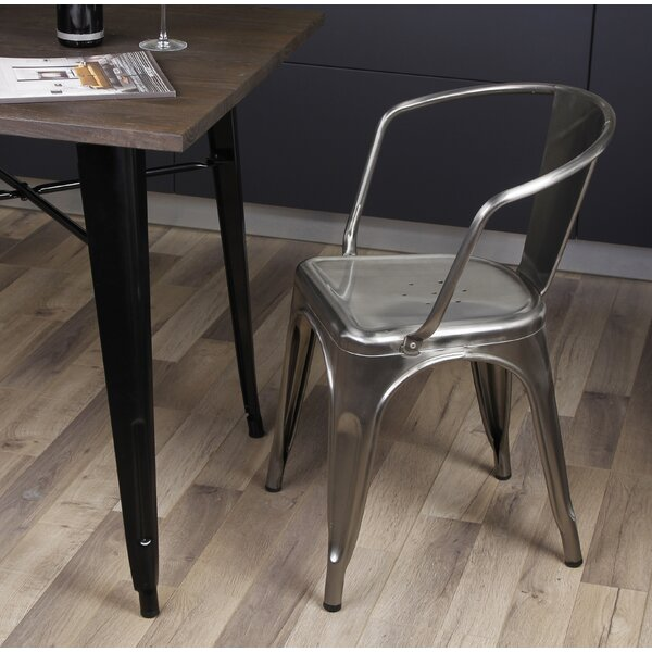 Best Choices Anni Metal Dining Chair By 17 Stories Reviews