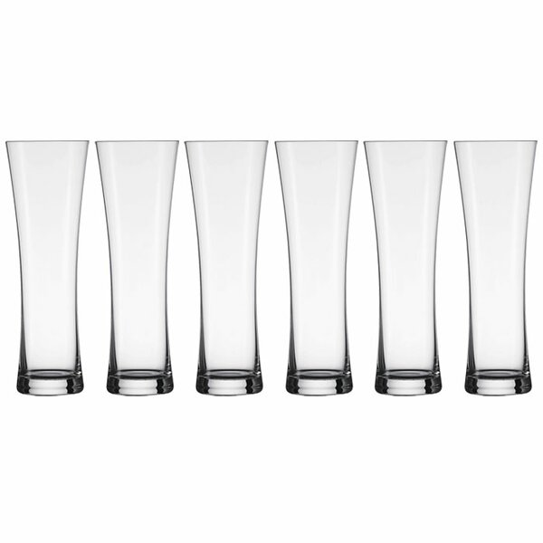 Basic Beer 17 oz. Glass Pint Glass (Set of 6) by Schott Zwiesel