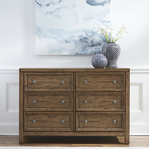 Milford 6 Drawer Double Dresser by Canora Grey