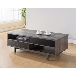 Compare Bushman Well Designed Coffee Table with Customize Decks or Drawers By Foundry Select