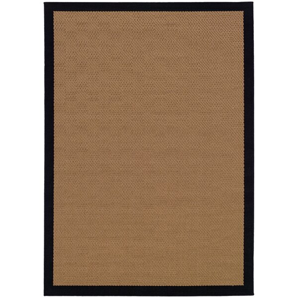 Weatherton Beige Outdoor Area Rug by Bay Isle Home
