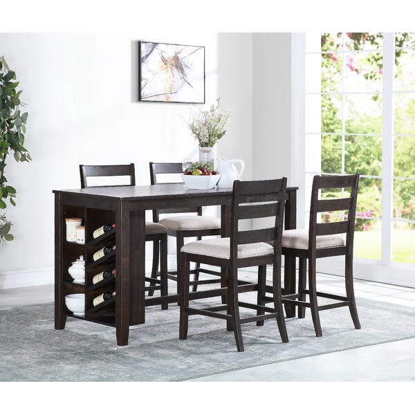 Belville 5 Piece Dining Set by Alcott Hill