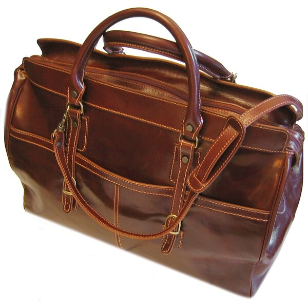 Casiana 21 Leather Travel Duffel by Floto Imports