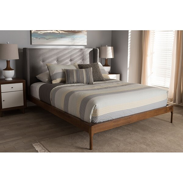 Benefiel Upholstered Platform Bed by George Oliver