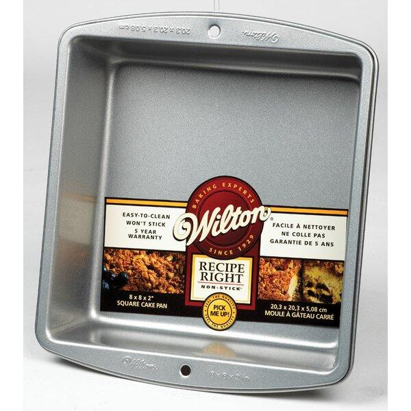 Non-Stick Square 8 Cake Pan by Wilton