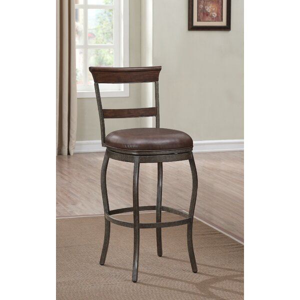 Belford 30 Swivel Bar Stool by Darby Home Co