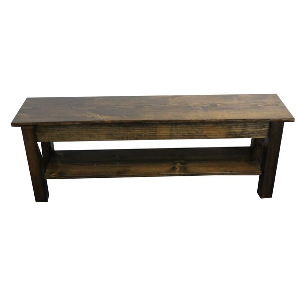 Pelagia Wood Storage Bench by Loon Peak