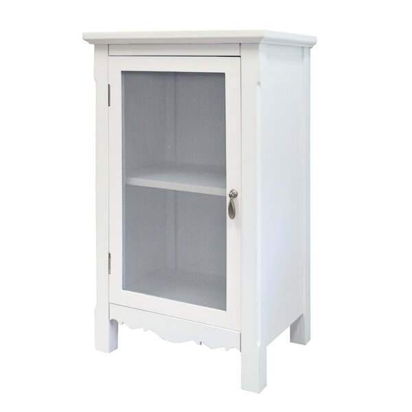 Hampton 1 Door Accent Cabinet by Rosecliff Heights