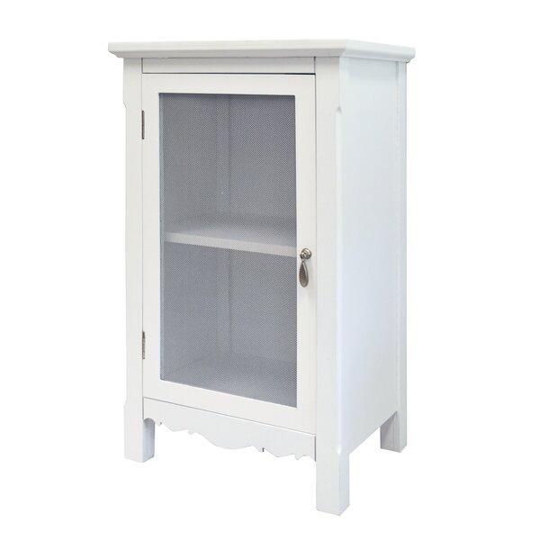 Hampton 1 Door Accent Cabinet by Rosecliff Heights