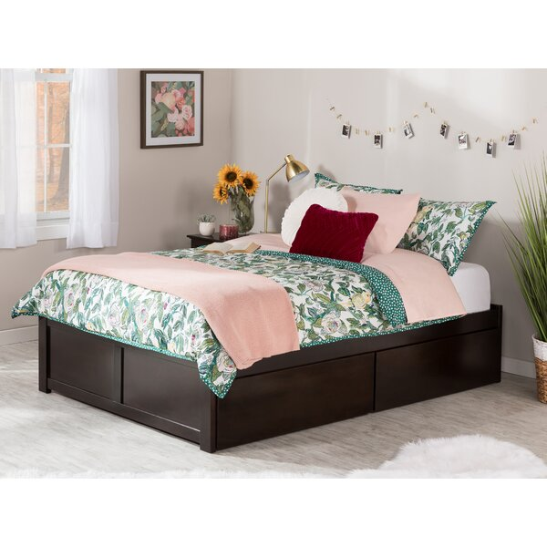 Mackenzie King Solid Wood Storage Platform Bed by Andover Mills Andover Mills