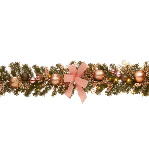 72 Decorated Pine Garland by The Holiday Aisle