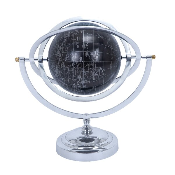 Aluminum Globe by Cole & Grey