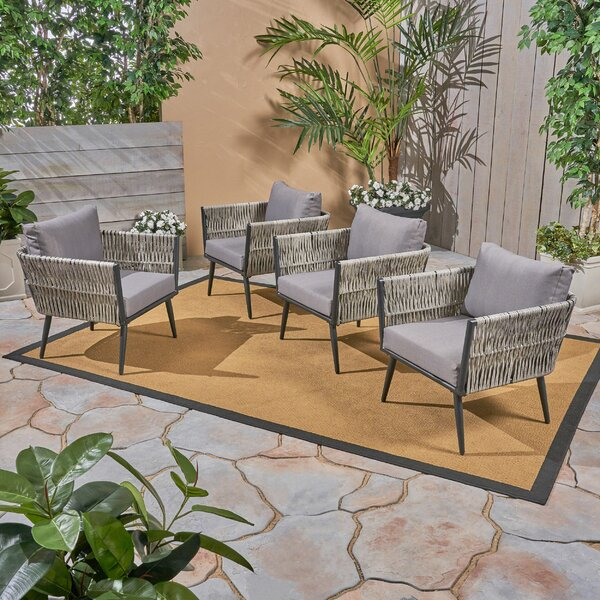 Giunta Patio Chair (Set of 4) by Brayden Studio
