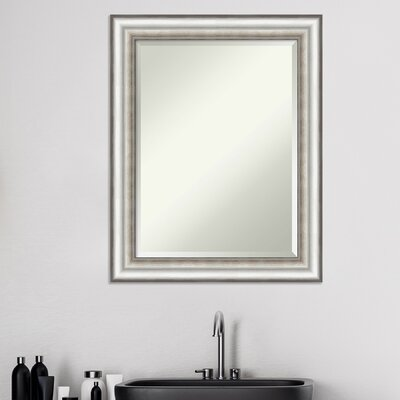Trumpeters Traditional Beveled Bathroom/Vanity Wall Mirror Andover Mills? Size: 29