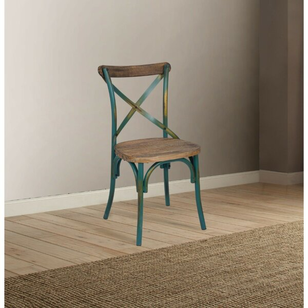 Laurie Industrial Dining Chair by Highland Dunes