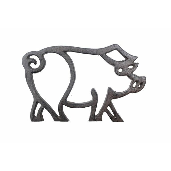 Cast Iron Pig Shaped Trivet by Gracie Oaks